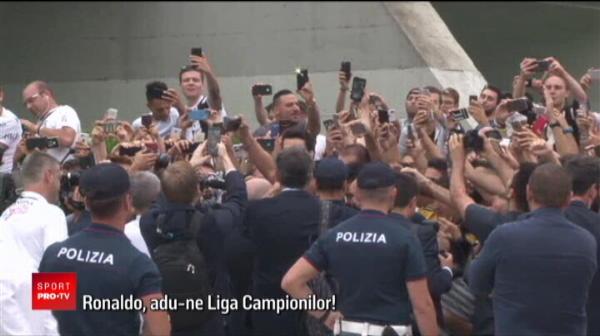 Ronaldo, prezentat oficial la Juventus