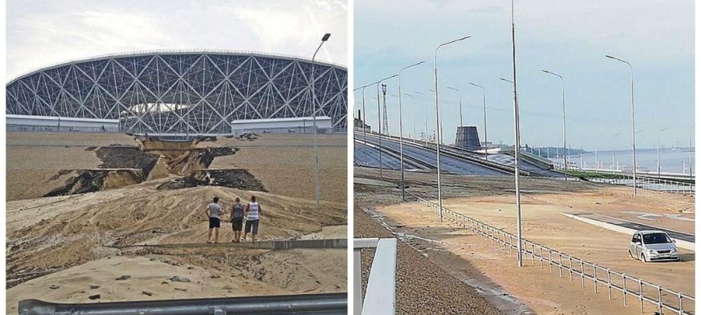 Stadioanele rusilor incep sa se DARAME! Imagini incredibile la cateva zile de la terminarea Cupei Mondiale! FOTO