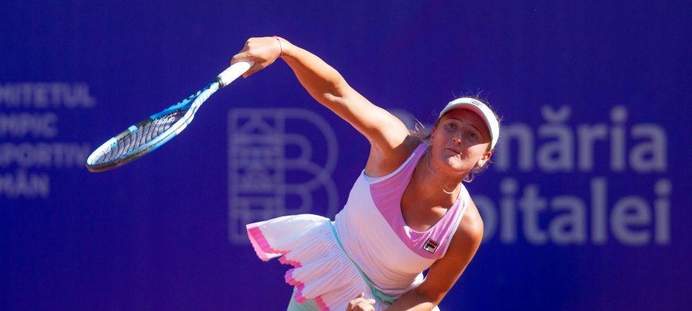 Surpriza in turneul de la Bucuresti: campioana en-titre, Irina Begu, a fost eliminata in primul tur
