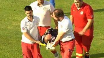 Reactia lui Marius Avram dupa ce a fost scos pe TARGA de la un meci de Europa League! Ce verdict i-au pus medicii