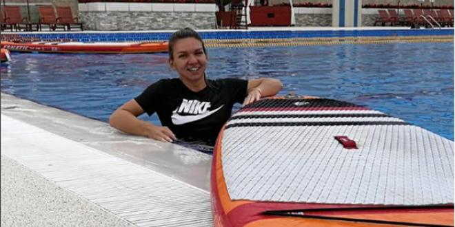 Simona Halep s-a apucat de un alt sport! Cum a fost surprinsa romanca in vacanta pe care si-a luat-o dupa Wimbledon   FOTO