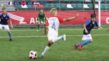 GENIAL! Copiii au recreat la Moscova finala Cupei Mondiale! Care a fost faza cel mai dificil de reprodus