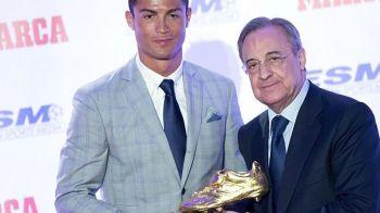 """Reactia lui Perez dupa transferul lui Ronaldo la Juventus: """"Nimeni nu credea ca este posibil, dar suntem Real Madrid si vrem mai mult!"""" Mesaj pentru fani"""