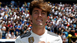 "OFICIAL | Real Madrid si-a prezentat achizitia de 30.000.000 euro: ""Am venit aici asa cum merge un copil la Disneyland"""