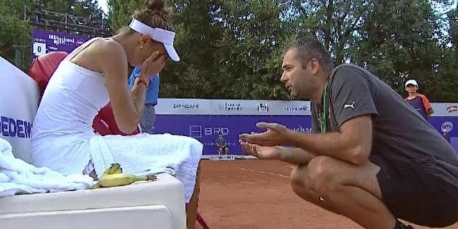 Rollercoaster! Mihaela Buzarnescu a izbucnit in lacrimi la Bucharest Open, apoi a revenit fantastic si s-a calificat in sferturi