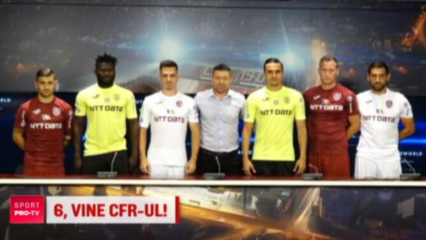 Campioana Ligii I e campioana si la transferuri! CFR si-a prezentat ultimele achizitii, cu care ataca grupele UCL