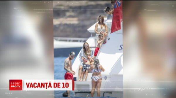 Messi a mers in Ibiza ca sa uite de Mondialul din Rusia! Sotia sa a atras toate privirile