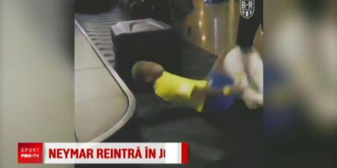 Romanii vor fi langa Neymar la primul meci al brazilianului dupa Mondial! Finalele Neymar Junior s Five vor fi sambata de la ora 18:00, la PRO X!