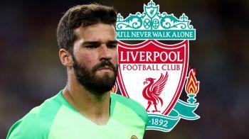 S-a facut! Alisson Becker devine cel mai SCUMP portar transferat vreodata! Suma URIASA platita de Liverpool!