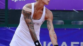 Aparitia momentului la turneul de la Bucuresti. Jucatoarea PLINA de tatuaje care tocmai a invins o romanca! FOTO