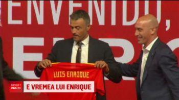 """""""Evolutie, nu revolutie!"""" Planul lui Luis Enrique pentru a revitaliza Spania: n-a mai antrenat pe nimeni de cand a plecat de la Barca"""