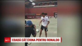 Ronaldo a paralizat Beijingul! Coada de 1 km pentru noul star al lui Juventus: de ce a plecat in China imediat dupa ce a semnat la Torino
