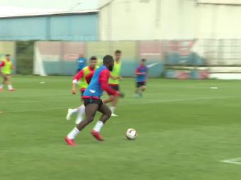 Il EL stau sperantele FCSB! Ce gol a marcat Gnohere la antrenament! De ce nu va juca cu Astra. VIDEO