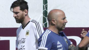 "Adevarul despre REVOLTA jucatorilor Argentinei in fata lui Sampaoli! Messi a izbucnit in vestiar in fata colegilor: ""Spune-mi asta in fata tuturor!"""