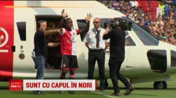 Jucatorii transferati in aceasta vara au aterizat cu elicopterul pe stadion! Show nebun la o echipa din Europa