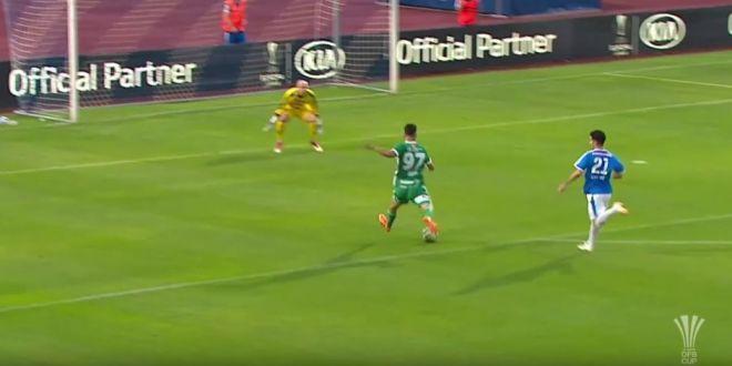GOOOOOOOOOOOL ANDREI IVAN! Romanul a reusit o dubla la debutul oficial pentru Rapid Viena! A avut nevoie de doar 5 minute pentru primul gol! VIDEO