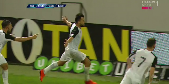 ASTRA - FCSB | Scandalul URIAS de la Mondial s-a mutat in Liga 1! Ce s-a intamplat imediat dupa golul primit de FCSB