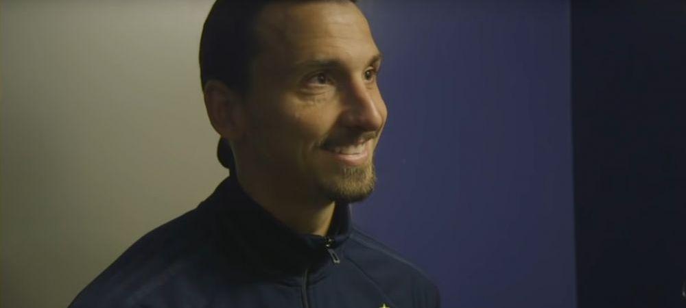 """Zlatan, declaratia anului dupa ultimul meci: """"Norocul vostru ca n-am venit acum 10 ani ca eram acum presedinte!"""""""