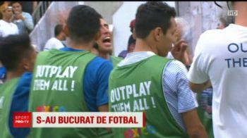 Moment incredibil la Neymar Jr's Five! Un argentinian i-a pupat ghetele brazilianului!   VIDEO