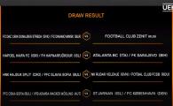 BREAKING NEWS | Tragere grea pentru toate echipele romanesti! Cu cine joaca FCSB si Viitorul daca trec de Rudar si Vitesse! Craiova poate merge in Germania!