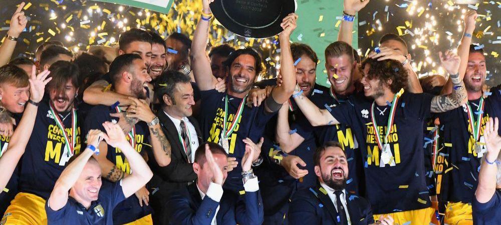 Parma a scapat de retrogradare, dar va incepe cu PENALIZARE noul sezon din Serie A! Cu ce handicap va pleca