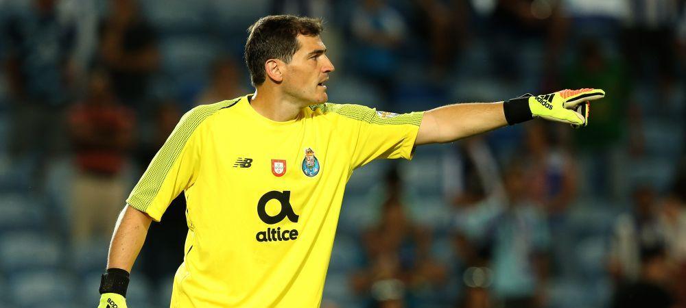 """Gestul incredibil al lui Iker Casillas: """"Si eu am gresit!"""" A postat un clip cu cele mai mari GAFE din cariera in apararea lui Karius"""