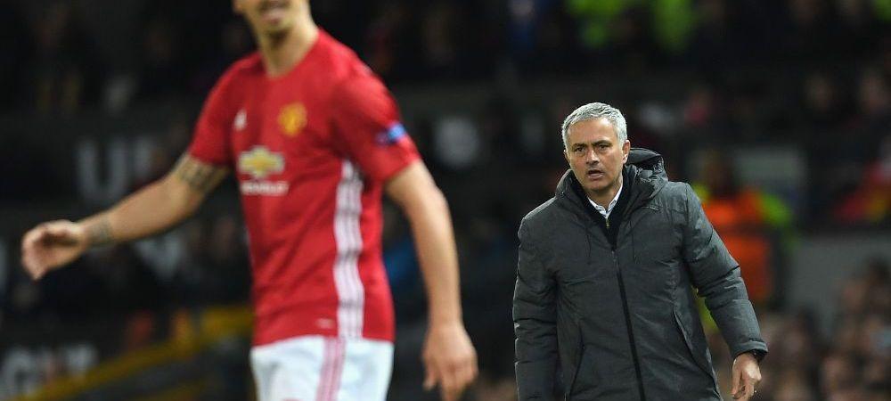 "Ibrahimovic anunta un transfer ""special"" la Manchester United! Mourinho se pregateste sa dezvaluie ""secretul"""