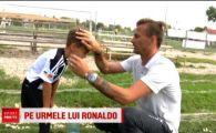 """Urmasul lui Ronaldo e in Romania! Juniorul care spune ca """"Messi nu este chiar asa bun ca Ronaldo"""""""