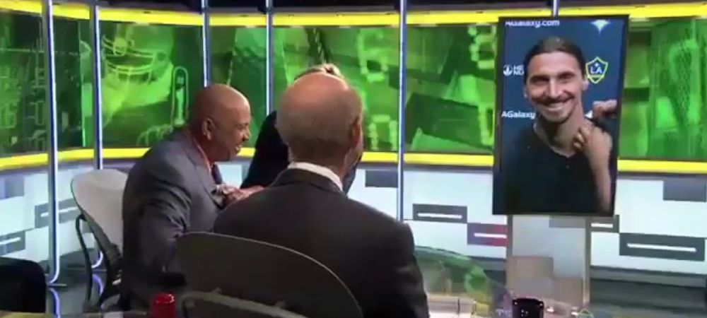 Reactia geniala a lui Zlatan Ibrahimovic cand un moderator ii pronunta gresit numele! I-a dat replica imediat