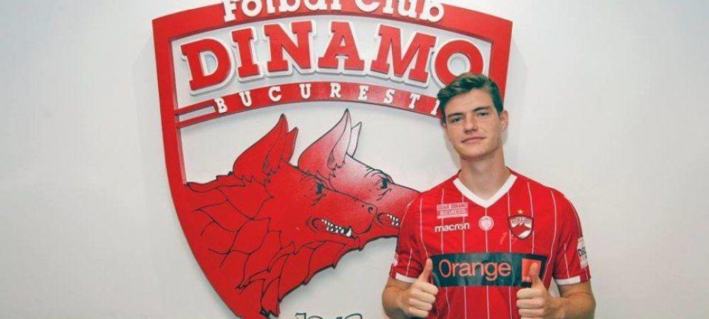 Transfer anuntat de Dinamo! Bratu a adus un jucator crescut de clubul care i-a dat pe Courtois si De Bruyne