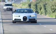 Toti au crezut ca Ronaldo a REVENIT la Real! Surpriza! Cine si-a facut aparitia la volanul celui mai nou Bugatti! VIDEO