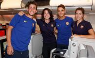 Scandal monstru la Barcelona! Clubul, acuzat de sexism | Femeile au zburat la clasa economica, barbatii s-au relaxat la clasa intai!Explicatia e incredibila