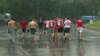 ULTIMA ORA | Derby in noroi? Acoperisul de pe National Arena nu a fost tras, in Bucuresti ploua torential