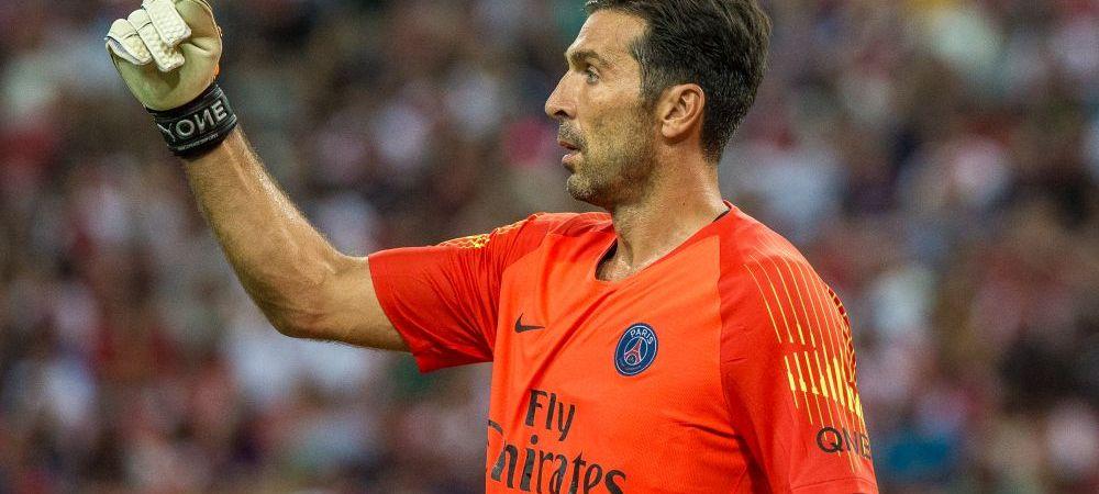 Lovitura GREA primita de Buffon! Legendarul portar nu se astepta la ASTA cand a semnat cu PSG