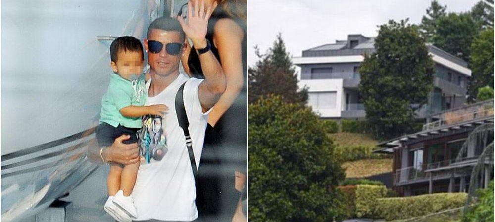 """A incercat sa se ASCUNDA, dar l-au gasit! Cum arata cele DOUA VILE in care locuieste Ronaldo la Torino: """"Orasul e la picioarele sale!"""""""