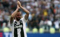 S-A TERMINAT! Higuain pleaca astazi de la Juventus Torino! Anuntul facut in urma cu putin timp