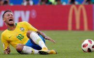 """Neymar, IRONIZAT in Brazilia dupa ce a recunoscut ca exagereaza: """"Si-a tras singur un glont in picior!"""" VIDEO"""