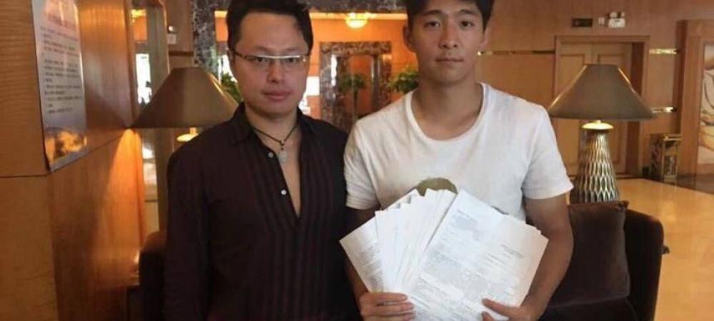 Chinezul dat disparut de CFR Cluj a ajuns la o alta echipa din Romania! Cu cine a semnat