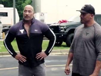 The Rock a socat pe toata lumea cu ultimul lui gest! Ce cadou de mii de dolari i-a facut celui care isi risca viata pentru el