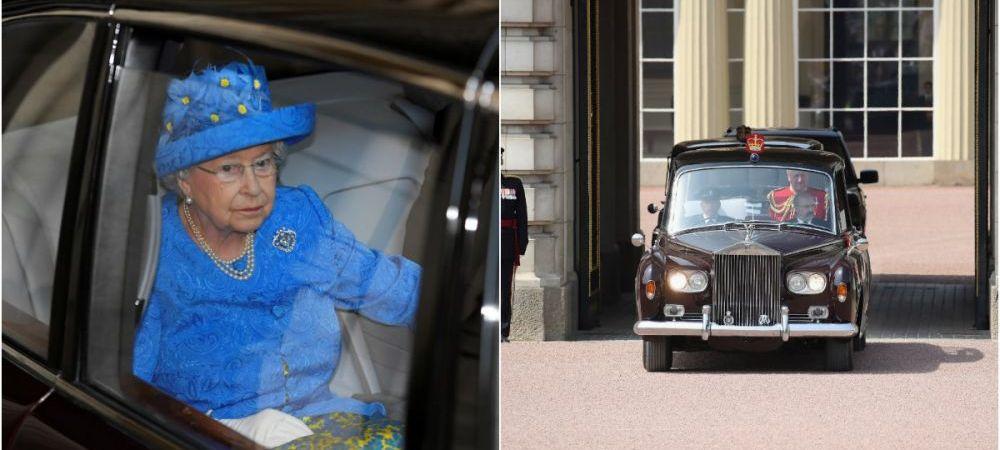 """""""Nu bate, nu troncane! Kilometri reali! A apartinut unei batrane care mergea cu ea la biserica"""" :)) Regina Angliei isi vinde Rolls Royceul din '53. Cati bani cere pe el"""