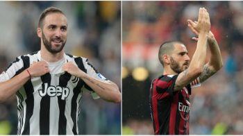 S-a facut! Bonucci revine la Juventus, Higuain pleaca la Milan! Torinezii primesc si o suma mare de bani