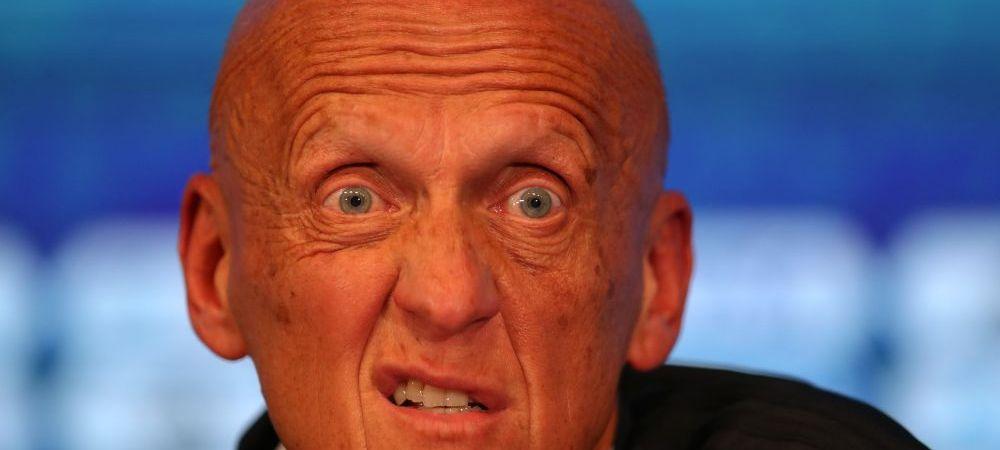 Collina si-a dat demisia de la FIFA si nu mai este seful arbitrilor! De ce a luat aceasta decizie