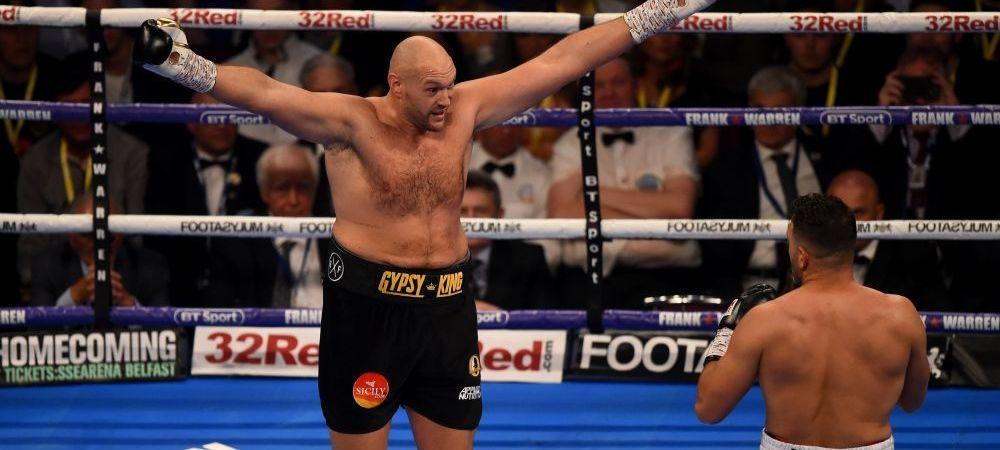 Tyson Fury a confirmat! Se bate cu campionul greilor in decembrie