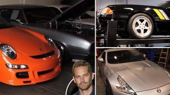 Cum arata garajul de MILIOANE lasat in urma de Paul Walker! Cele 30 de super masini ale actorului. VIDEO