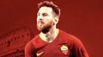 Genial! AS Roma a anuntat transferul lui Messi pe pagina oficiala, ca razbunare dupa ce Barcelona l-a furat pe Malcom: FOTO