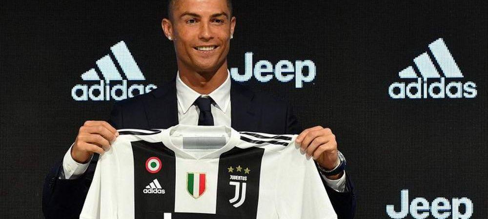 Inca un roman la Juventus! Primul lucru pe care l-a facut: poza cu Cristiano Ronaldo | FOTO
