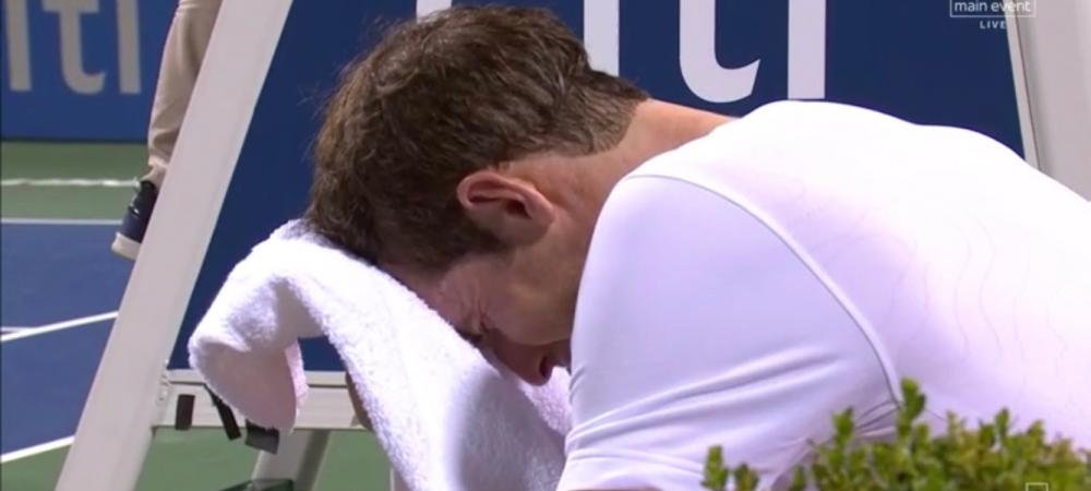 Andy Murray l-a invins pe Marius Copil si a IZBUCNIT in lacrimi! Meci ISTORIC la Washington! VIDEO