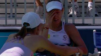 Miki Buzarnescu a izbucnit din nou: a plans si a urlat ca nu mai poate, apoi s-a calificat si a depasit-o pe Serena Williams in clasamentul pentru Turneul Campioanelor