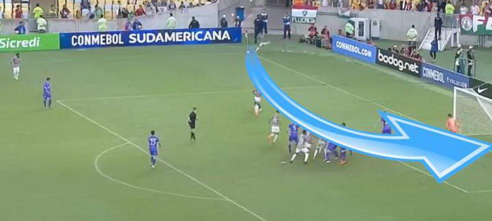 Golul marcat de Florinel Coman din corner nu se compara cu reusita asta! Reusita OLIMPICA a unui jucator din Brazilia! VIDEO