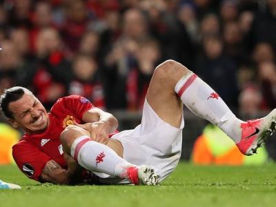 """Atentie, imagine DURA! """"Mi-au zis ca s-a terminat totul!"""" Poza CUTREMURATOARE facuta publica de Zlatan. Cum arata piciorul lui dupa operatie"""